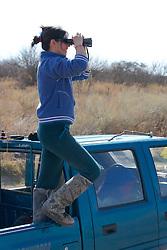 Miriam Benzaquín Observing