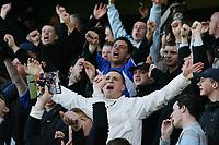 Photo: Alex Pelaez.<br />Millwall v Cheltenham Town. Coca Cola League 1. 03/03/2007.<br />Millwall fans