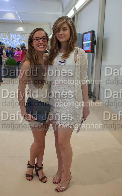 LILA BENINI; FLORENCE ROBINSON, Masterpiece Midsummer Party in aid of CLIC Sargent. Masterpiece London. The Royal Hospital, Royal Hospital Road, London, SW3. 3 July 2012.