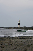 Lighthouse on Inis Oirr the Aran Islands Galway Ireland