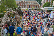 The Main Avenue - The Chelsea Flower Show organised by the Royal Horticultural Society with M&G as its MAIN sponsor for the final year. London 23 May, 2017