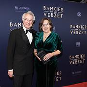 NLD/Amsterdam/20180305 - Première Bankier van het Verzet, Jozias van Aartsen en partner Henriëtte Warsen