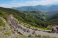 Col d'Aspin during the 105th Edition of Tour de France 2018, cycling race stage 19, Lourdes - Laruns (200 km) on July 27, 2018 in Laruns, France - photo Kei Tsuji / BettiniPhoto / ProSportsImages / DPPI