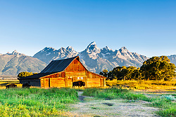"""Moulton Barn and Bison, Jackson Hole, Wyoming<br /> <br /> For production prints or stock photos click the Purchase Print/License Photo Button in upper Right; for Fine Art """"Custom Prints"""" contact Daryl - 208-709-3250 or dh@greater-yellowstone.com"""
