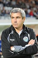 FOOTBALL - FRENCH CHAMPIONSHIP 2010/2011 - L2 - VANNES OC v TOURS FC - 24/09/2010 - PHOTO PASCAL ALLEE / DPPI - DANIEL SANCHEZ TOURS FC COACH