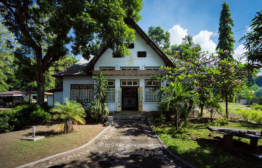 Istana Kerajaan Larantuka, Flores Timur, Nusa Tenggara Timur, Indonesia.