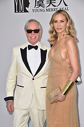 Tommy Hilfiger, Dee Ocleppo attend the amfAR Cannes Gala 2019 at Hotel du Cap-Eden-Roc on May 23, 2019 in Cap d'Antibes, France. Photo by Lionel Hahn/ABACAPRESS.COM