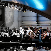 At the Celebration At The Station concert event, held at Union Station annually on the Memorial Day weekend.