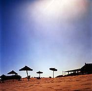 Toreilles beach resort, France, September 2007