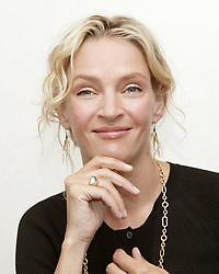 July 11, 2006 - Actress UMA THURMAN (born April 29, 1970 Boston, Massachusetts, U.S.) promotes the movie 'My Super Ex-Girlfriend' .in New York City. (Credit Image: © Armando Gallo via ZUMA Studio)