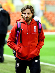 Joe Allen of Liverpool arrives at Anfield - Mandatory byline: Matt McNulty/JMP - 02/03/2016 - FOOTBALL - Anfield - Liverpool, England - Liverpool v Manchester City - Barclays Premier League