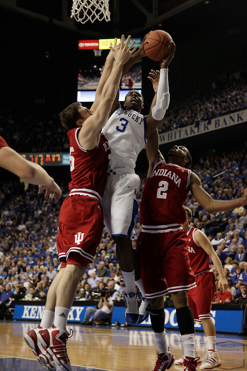11 December 2010: Kentucky Wildcats forward Terrence Jones (3) as the Indiana Hoosiers played the Kentucky Wildcats in a college basketball game in Lexington, Ky.