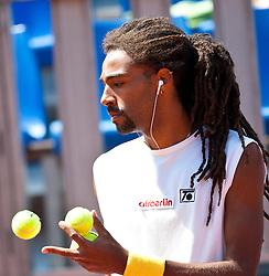 04.08.2010, Sportpark, Kitzbühel, AUT, ATP Challenger, Austrian Open 2010, im Bild Dustin Brown (JAM), EXPA Pictures © 2010, PhotoCredit: EXPA/ J. Feichter / SPORTIDA PHOTO AGENCY