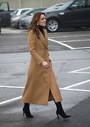 Catherine, Duchess of Cambridge, visits HMP Send (a resettlement prison for sentenced women), in Woking, Surrey, UK, on January 22, 2020.<br />
