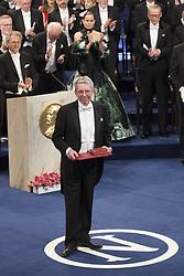 Nobelpreisverleihung 2016 in der Konzerthalle in Stockholm / 101216 ***Jean-Pierre Sauvage, The Nobel Prize in Chemistry 2016 <br />  ***The annual Nobel Prize Award Ceremony at The Concert Hall in Stockholm, December 10th, 2016***