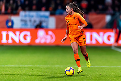 09-11-2018 NED: UEFA WC play-off final Netherlands - Switzerland, Utrecht<br /> European qualifying for the 2019 FIFA Women's World Cup - Lieke Martens #11 of Netherlands