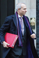 Downing Street, London, November 29th 2016. Leader of the House of Commons David Lidington leaves 10 Downing Street following the weekly cabinet meeting.