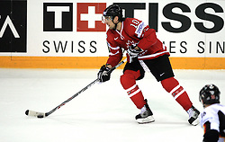 Patrick Sharp of Canada at ice-hockey game Canada vs Germany in Qualifying Round Group F, at IIHF WC 2008 in Halifax,  on May 10, 2008 in Metro Center, Halifax, Nova Scotia,Canada. Canada won 11:1. (Photo by Vid Ponikvar / Sportal Images)