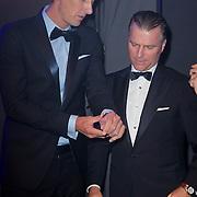 NLD/Amsterdam/20111029- JFK Greatest Man Award 2011, winnaar Edwin van der Sar en Hens Begijn van Audemars Piquet