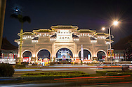 The main archway (gate) to Liberty Square, formally known as the Chiang Kai Shek Memorial Hall.