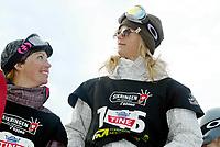 Snøbrett, 28. mars 204, NM halfpipe, Kjersti Østgaard Buaas, ble norsk mester for senior kvinner. Her sammen med Stine Brun Kjeldaas (t.v.)