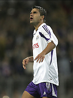 ANDERLECHT 24/08/2004<br /> SPORT - FOOTBALL - VOETBAL<br /> ANDERLECHT - BENFICA /<br /> CHAMPIONS LEAGUE PRELIMINARY ROUND 3 FIRST LEG /<br /> NENAD JESTROVIC<br /> / PICTURE PHILIPPE CROCHET - VINCENT KALUT<br /> Digitalsport