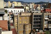 Spain, Barcelona, the houses around Casa Milà (La Pedrera)