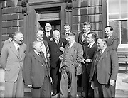 The 15th Dáil was elected at the 1954 general Election  on 18th of  May 1954. Their first met on 2nd of  June 1954,  when the 7th Government of Ireland    was appointed. The 15th Dáil lasted for 1,022 days.15th Dail Reopens at Leinster House, Dublin. 02/06/1954
