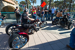 Boardwalk Bike Show during Daytona Bike Week. FL, USA. March 14, 2014.  Photography ©2014 Michael Lichter.
