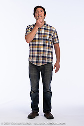 Shawn Camden at the Intercambio portrait Shoot. Longmont, CO, USA. June 5, 2021. Photography ©2021 Michael Lichter. Usage rights granted to Intercambio Uniting Communities and its assigns.