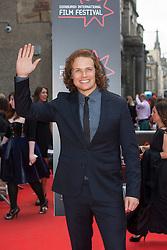 "Sam Heughan. Opening Night Gala and World Premiere of ""The Legend of Barney Thompson"", Edinburgh International Film Festival 17 - 28 June 2015."