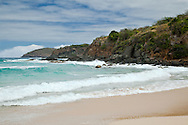 Brava Beach, in an isolated area on the north coast of Culebra, is a quiet and beautiful spot.