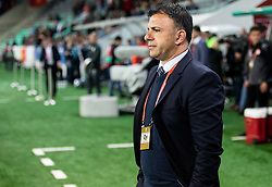 Igor Angelovski, coach of Macedonia during football match between National teams of Slovenia and North Macedonia in Group G of UEFA Euro 2020 qualifications, on March 24, 2019 in SRC Stozice, Ljubljana, Slovenia. Photo by Vid Ponikvar / Sportida