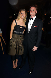 LADY KINVARA BALFOUR and RICCARDA LANZA at the British Red Cross London Ball held at The Room by The River, 99 Upper Ground, London SE1 on 16th November 2006.<br />