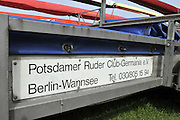 Berlin GERMANY.    Contents of a boat trailer Riggers and seats etc.   Berlin Grunau Spring Regatta Course.  [Berliner Fruh-Regatta 2010 Berlin-Grunau.].  Saturday   24/04/2010.  [Mandatory Credit. Peter Spurrier/Intersport Images].