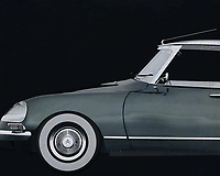 """The Citroen DS was presented at the Paris Motor Show on 6 October 1955 and struck like a bomb (""""La Bombe Citroën""""). The car had different characteristics and applied techniques that had not been combined in one car until then. <br /> <br /> The Citroen DS came third in the """"Car of the Century"""" election in 1999 and was selected by a panel of leading car designers, by the British magazine """"Classic & Sports Car"""", as the """"most beautiful car of all time"""""""