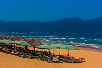 Beach at Danang, Vietnam.