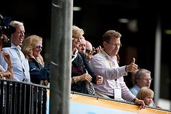 Ann Katrin Linsenhof and father of Mathias Alexander, <br /> Klaus Martin Rath<br /> European Championships Dressage - Rotterdam 2011<br /> © Dirk Caremans