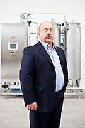 Giuseppe Gerbotto, amministratore delegato di idroricerche. l'azienda si occupa di trattamenti, filtrazioni e diversi servizi che riguardano la risorsa acqua