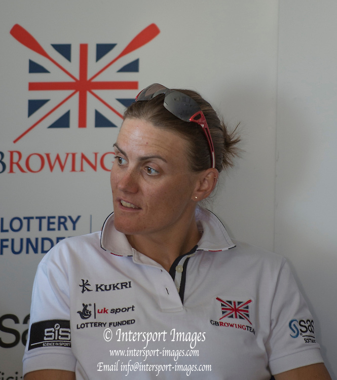 Caversham. Reading. Heather STANNING. GBRowing  European Team Announcement, GB Training Base Reading. 13.05.2015. Wednesday. [Mandatory Credit: Peter Spurrier/Intersport-images.com
