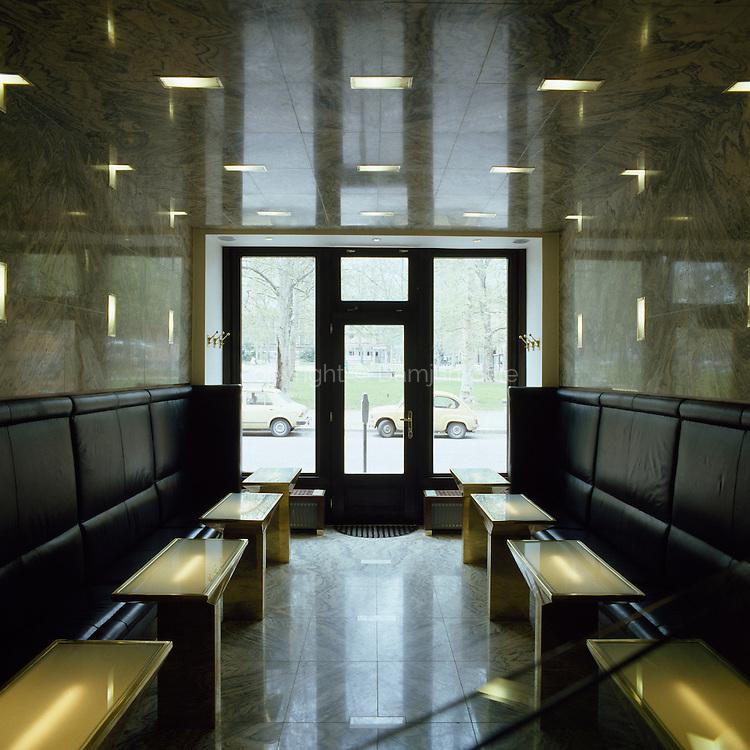 Bar in bistro Platana