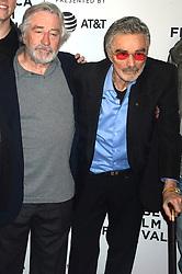 April 22, 2017 - New York, New York, USA - Robert De Niro und Burt Reynolds bei der Premiere von 'Dog Years' auf dem Tribeca Film Festival 2017 im Cinépolis Chelsea. New York, 22.04.2017 (Credit Image: © Future-Image via ZUMA Press)