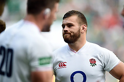 Luke Cowan-Dickie of England looks on after the match - Mandatory byline: Patrick Khachfe/JMP - 07966 386802 - 24/08/2019 - RUGBY UNION - Twickenham Stadium - London, England - England v Ireland - Quilter International