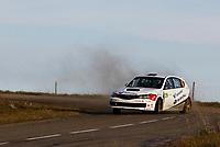 MOTORSPORT - WORLD RALLY CHAMPIONSHIP 2010 - RALLYE DE FRANCE / ALSACE  - STRASBOURG (FRA) - 30/09 TO 03/10/2010 - PHOTO : FRANCOIS BAUDIN / DPPI - <br /> GRONDAL Anders (NOR) / ENGAN Veronica (NOR) - ANDERS GRONDAL WRC RALLY TEAM - SUBARU Impreza STI- Action