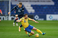 Coll  Dionaldson from Ross County and Chis Kane from St Jonstone during the Scottish Premiership match between Ross County FC and St Johnstone FC at the Global Energy Stadium, Dingwall, Scotland on 2 January 2021