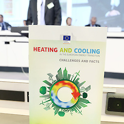 20150226 - Brussels - Belgium - 26 February 2015 -  Heating and cooling in the European energy  transition conference - Heat in the service of the EU energy transition  - Illustration picture © EC/CE - Patrick Mascart