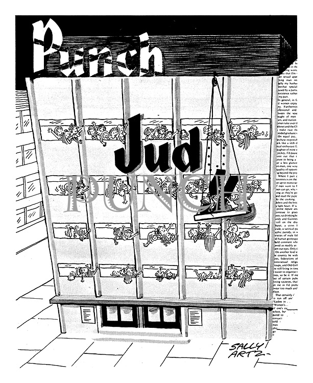 Judo-Punch [Women's takeover of Punch - for one issue]