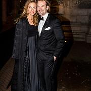 NLD/Amsterdam//20170309 - 5 jarig bestaan Vogue, Jasper Krabbe en partner Annemarieke van Drimmelen