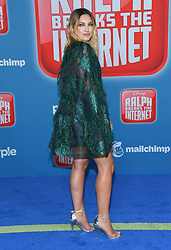 November 5, 2018 - Hollywood, California, U.S. - Julia Michaels arrives for the 'Ralph Breaks the Internet' World Premiere at the El Capitan theater. (Credit Image: © Lisa O'Connor/ZUMA Wire)