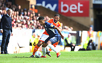 Blackpool's Liam Feeney and Southend United's Nathan Ralph<br /> <br /> Photographer Rob Newell/CameraSport<br /> <br /> The EFL Sky Bet Championship - Southend United v Blackpool - Saturday 10th August 2019 - Roots Hall - Southend<br /> <br /> World Copyright © 2019 CameraSport. All rights reserved. 43 Linden Ave. Countesthorpe. Leicester. England. LE8 5PG - Tel: +44 (0) 116 277 4147 - admin@camerasport.com - www.camerasport.com